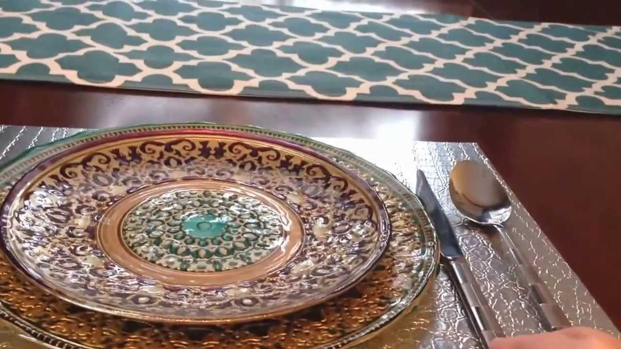 Interior Design Tips   How To Set A Beautiful Table For A Dinner Party,  Christmas, Or The Holidays   YouTube