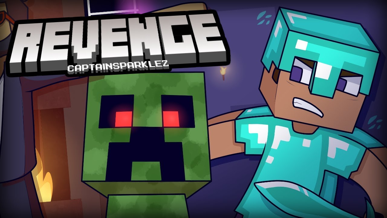 """Revenge"" (CaptainSparklez) Minecraft Parody Remix"