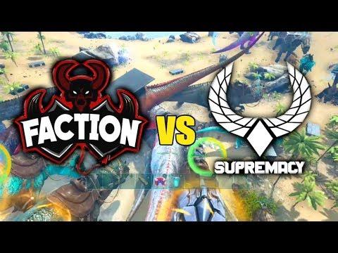 FACTION VS SUPREMACY!? INTRODUCING FACTION 2.0 - ARK SURVIVAL MEGA WAR