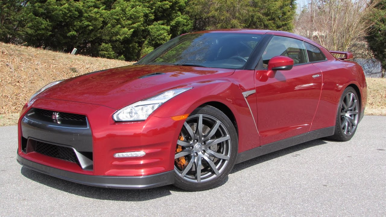 2015 Nissan GT-R Premium Start Up, Road Test, and In Depth Review ...