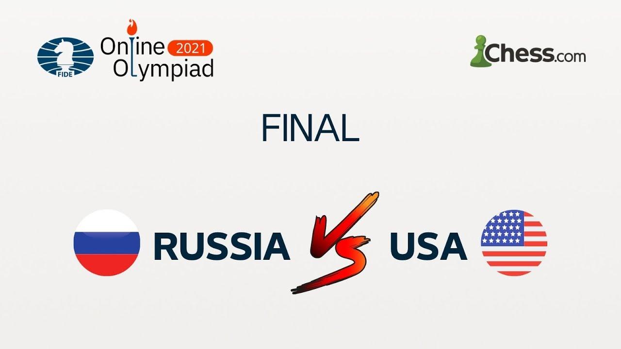 FIDE Online Olympiad | Final USA vs Russia