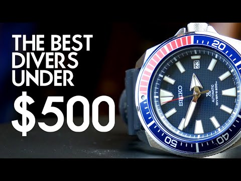 The Best Dive Watches Under $500 Right Now (May 2020)