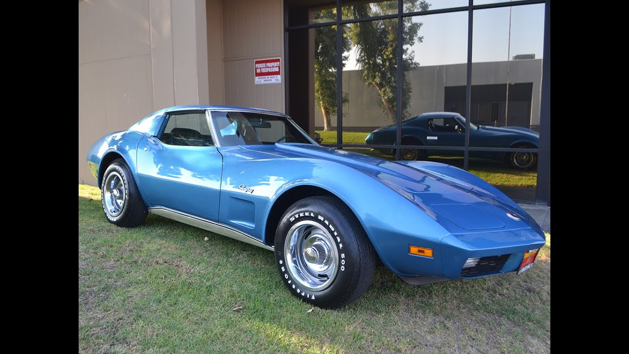 Chevrolet Corvette For Sale >> SOLD 1974 Chevrolet Corvette with only 445 Miles, L-82 and ...