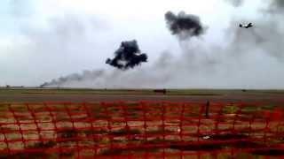 Oddessa/midland Tx Airshow Featuring The Usaf Thunderbirds