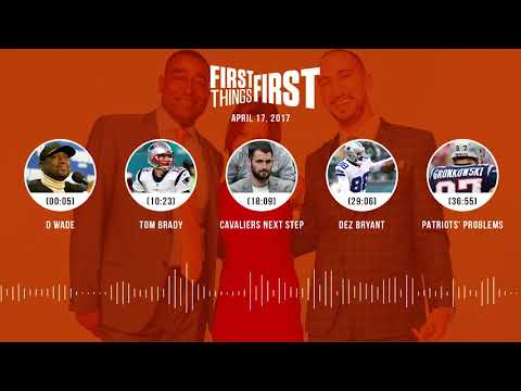 First Things First audio podcast(4.17.18) Cris Carter, Nick Wright, Jenna Wolfe | FIRST THINGS FIRST