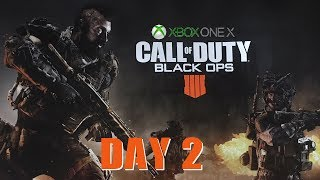 Call of Duty Black Ops 4 Xbox One X - Day 2 - Grinding!!!