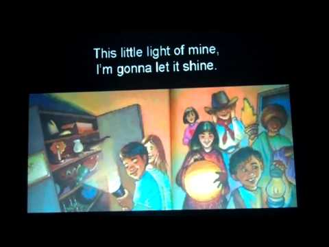 Illustrated Song 1-This Little Light of Mine