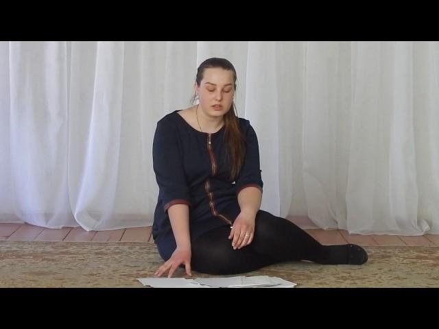 Изображение предпросмотра прочтения – АлинаСоболевская читает произведение «Она сидела наполу…» Ф.И.Тютчева