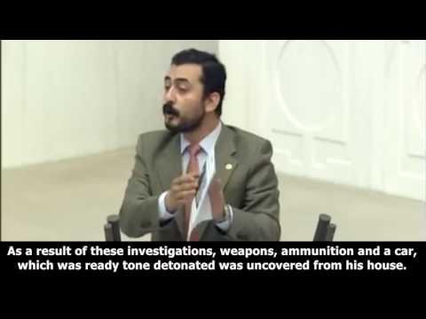 MP EREN ERDEM SAYS AT TURKISH PARLIAMENT ABOUT ISIS INVESTIGATION