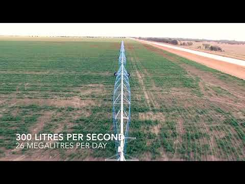 Valley Linear Irrigation project offers new opportunities for Cotton crops in Australia