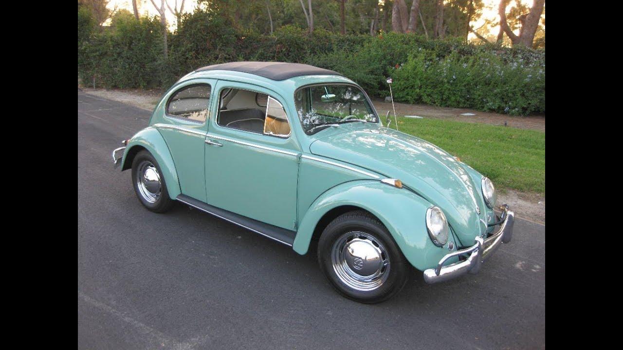 Sold 1962 Volkswagen Beetle Sedan Green For Sale By