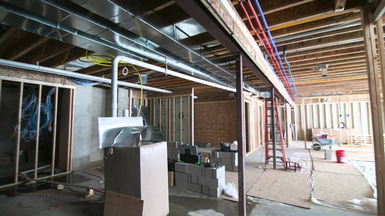 Plymouth Michigan Luxury New Construction Hvac Youtube