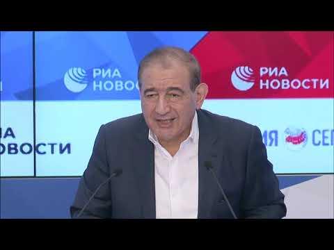 مؤتمر صحفي لرئيس منصة موسكو للمعارضة السورية د.قدري جميل  - 19:00-2020 / 8 / 11