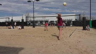 Abigail Elder, Class of 2019, Lefty, Beach Volleyball Highlights, Winter 2018