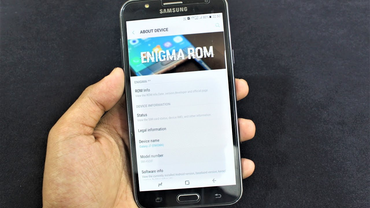Enigma S8 V5 For Galaxy J7 [FINAL] - Review, AnTuTu Test & Custom Kernels  by Quazwersxce X