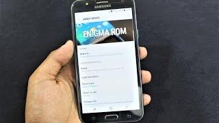 Enigma S8 V5 For Galaxy J7 [FINAL] - Review, AnTuTu Test & Custom Kernels