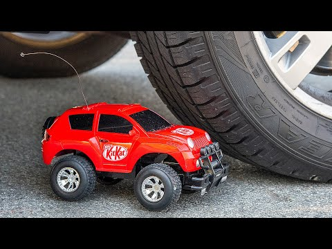 toy-car-vs-car-experiment-|-asmr-crushing-crunchy-&-soft-things-by-car-|-test-perfect-how-to