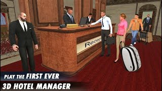 Virtual Manager Job Simulator Five Star Hotel Game ( Level 1 To 5 Complete Gameplay Android IOS