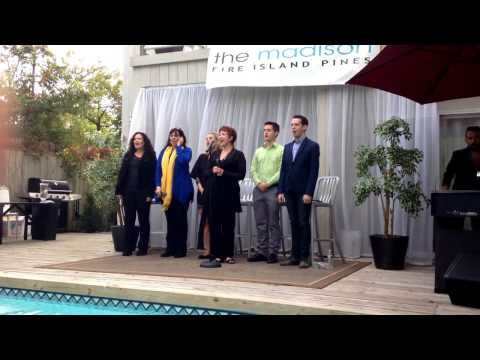 "Donna McKechnie Sings ""What I Did For Love"" At The Madison Fire Island Pines"