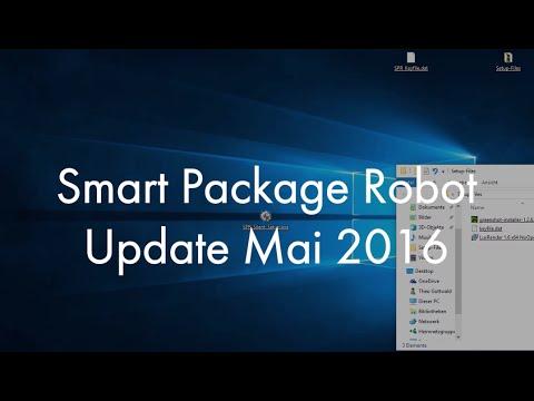 Smart Package Robot: Das wichtige Mai-2016 Update