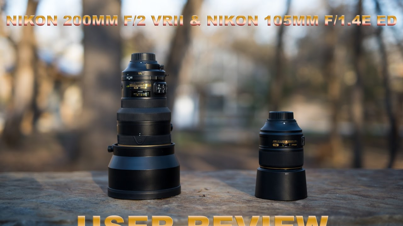 See Nikon's 105mm f/1 4 go head to head against the 200mm f