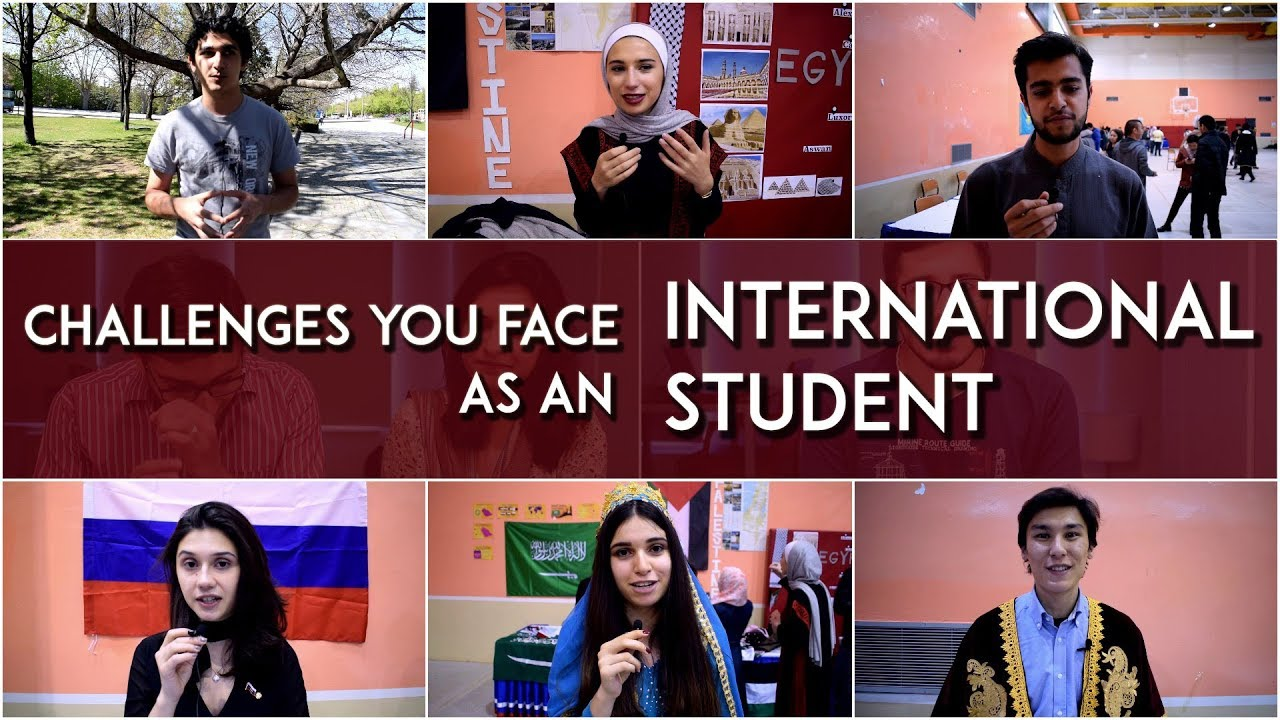 challenges international students face Madhav kapur understands the challenges that international students face and offers some tips on how to tackle them.