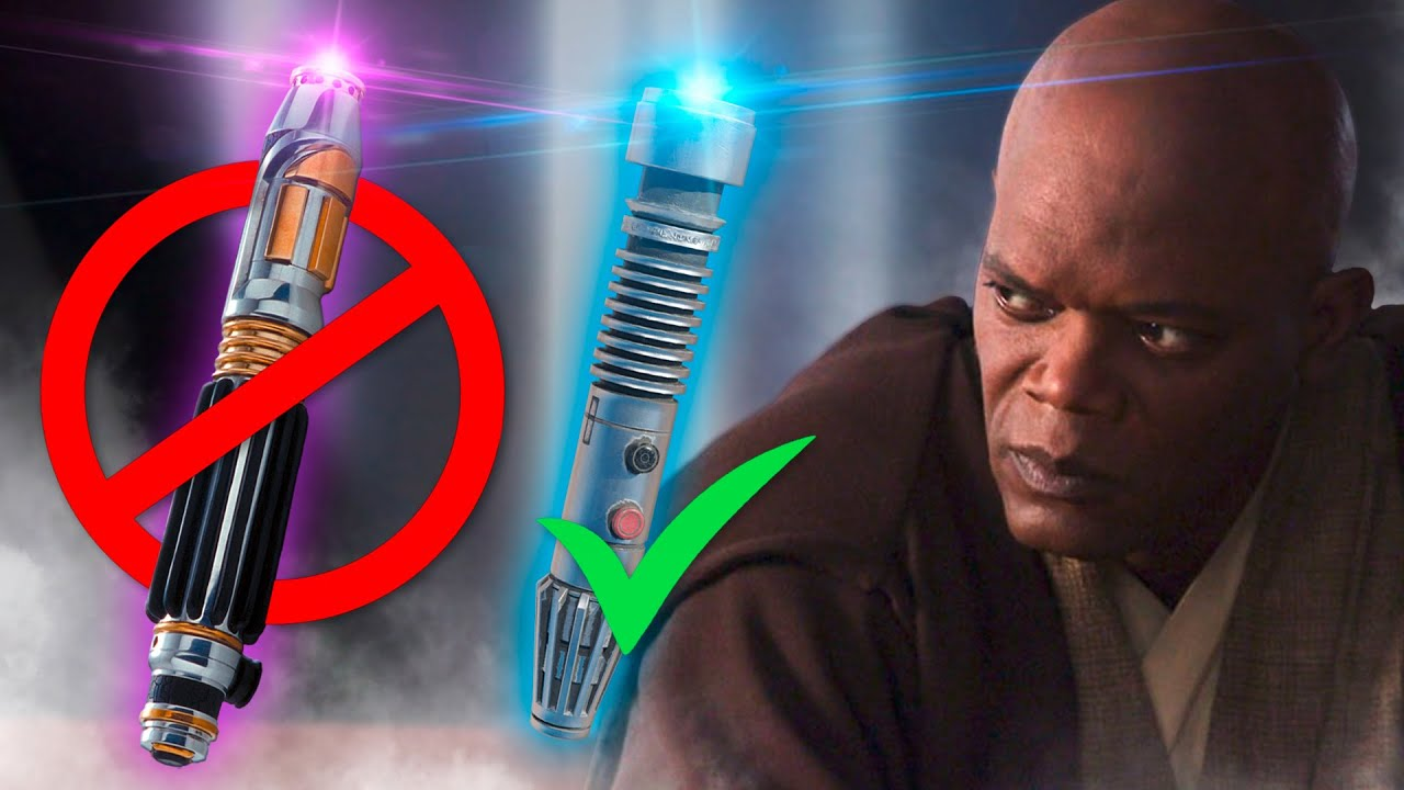 Der absurde Grund, warum Mace Windu ein blaues Lichtschwert in Episode 1 hatte!