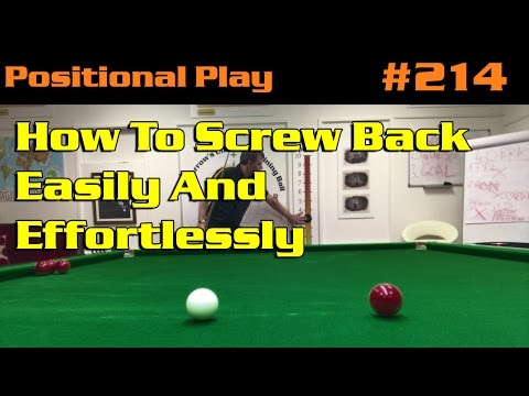 POSITIONAL PLAY   How To Screw Back Easily And Effortlessly