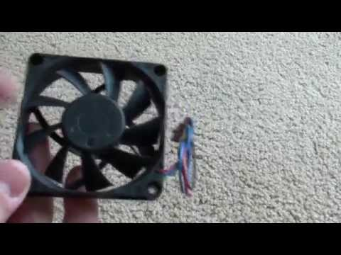 How to fix noisy computer fans.