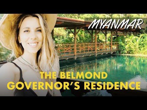 Hotel da sogno a Yangon: Belmond Governor's Residence - viaggio in Myanmar
