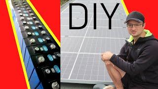 DIY: 10kW Solaranlage + 11kWh Baтterie & das richtig günstig