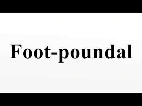 Foot-poundal
