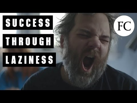 Dan Harmon Explains How Laziness Can Actually Guide Your Success