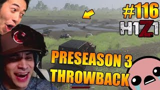 THROWBACK TO PRESEASON 3! PLEASE BRING IT BACK! H1Z1 - Oddshots & Funny Moments #116