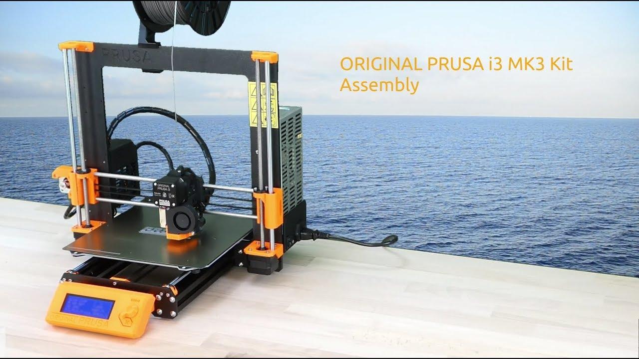 Original Prusa i3 MK3 Kit, a time-lapse assembly