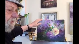 The Beauty of Oil Painting