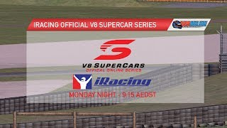 iRacing Official V8 Supercar Series - Round 11, Phillip Island