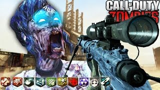 INSANE RUST ZOMBIES BUYABLE ENDING! - CUSTOM ZOMBIES GAMEPLAY FINALE! (Call of Duty Zombies)