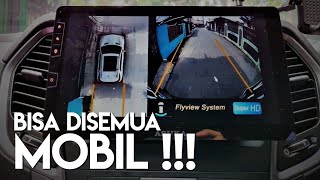 Pasang Kamera Parkir 360 di Mobil (All Round View Monitor)