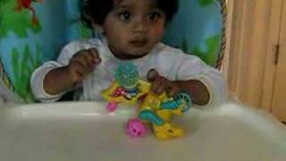 Harsha And String Pull Toy