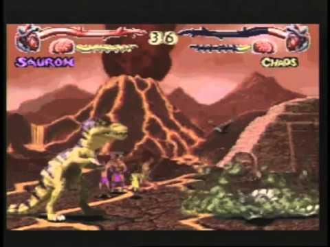 Primal Rage - Preview - Midway Arcade Treasures 2 (PS2)