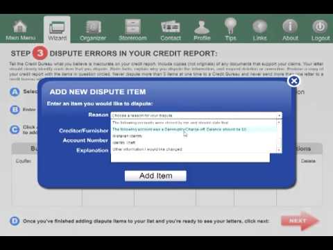 Do-It-Yourself Credit Repair Software