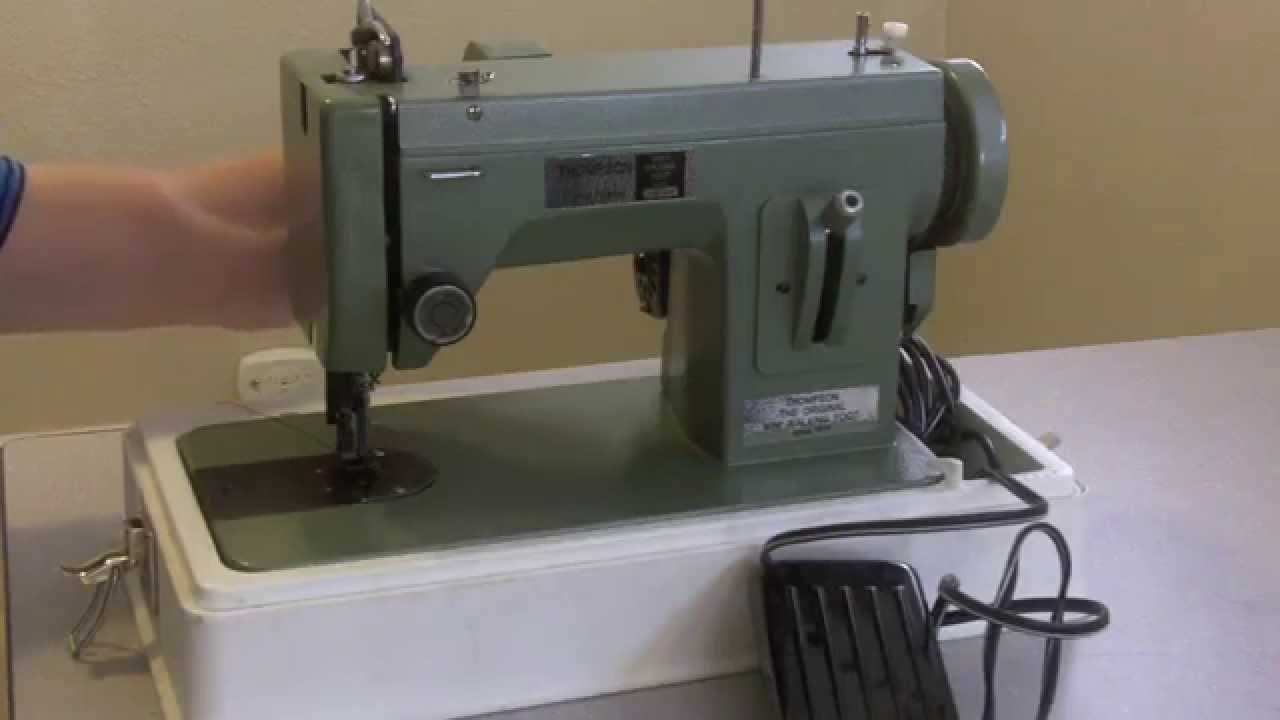 Do You Need An Industrial Sewing Machine? Part Two ...