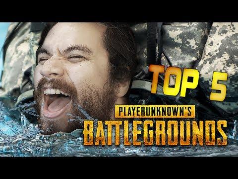 MAN vs WILD : TUTO TOP 5 (PUBG / PLAYERUNKNOWN's BATTLEGROUNDS)