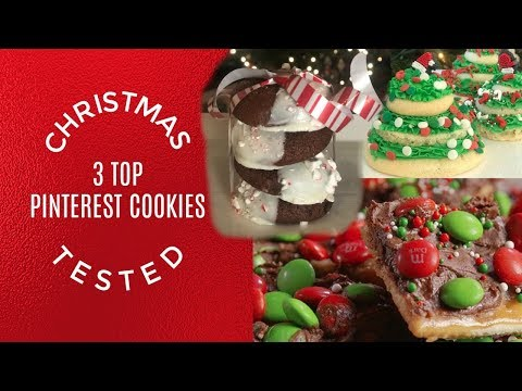 Top Pinterest Christmas Cookies Tested I Kin Cookie Collab I How To Cook Craft & Cake It