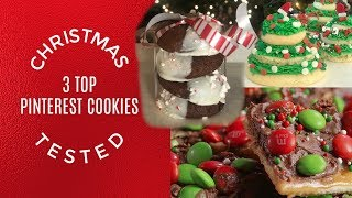 Top Pinterest Christmas Cookies Tested I Kin Cookie Collab I How to Cook Craft & Kids
