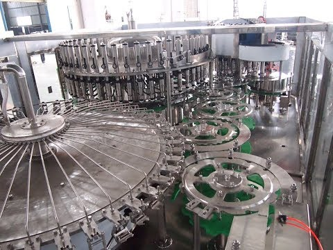 20000BPH Mineral Water Filling Production Line