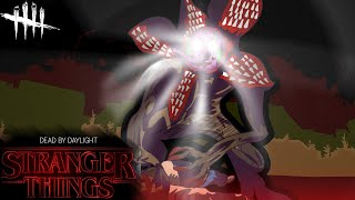 RILLAGORGAN IS LIVE AND IN ACTION | Dead By Daylight Stranger Things DLC | Demogorgon Gameplay