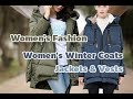 ♀Women's Fashion Women's Winter Coats, Jackets  & Vests
