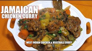 Jamaican Chicken Coconut Curry - Chicken Curry - West Indian Chicken Curry - Curry Chicken